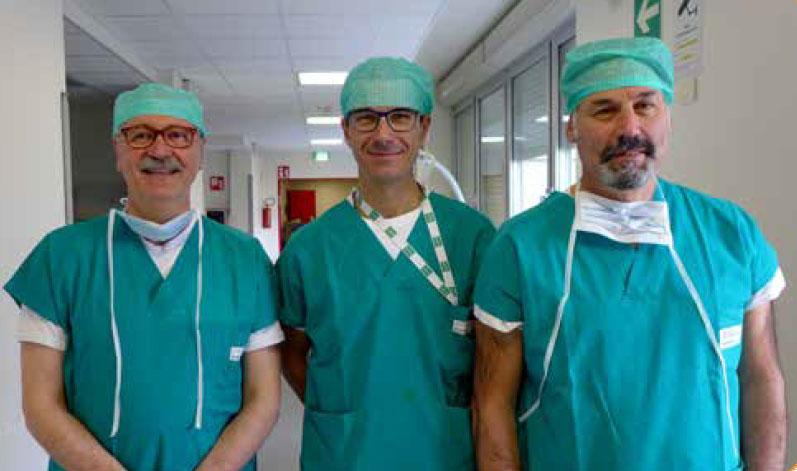 Dott. Vezzani, Dott. Ghidini, Dott. Piazza